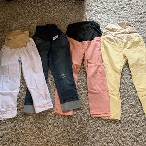 Maternity Pants Lot LOFT & Motherhood